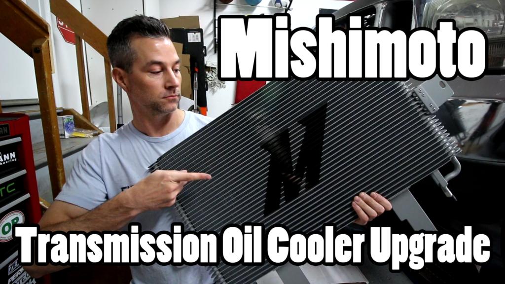 Mishimoto 7.3 Transmission Cooler Upgrade